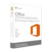 Microsoft Office 2016 Home and Student PC BOX Polski