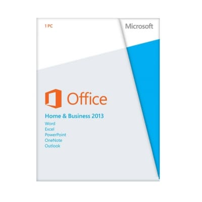 Microsoft Office 2013 Home and Business Retail ESD TEL.